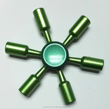 High Speed Bottle Shape Metal Fidget Spinner Toy