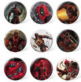 Cheap Custom Marvel Deadpool Tin Badges