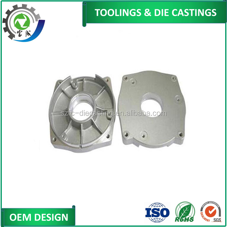 China supplier oil & gas industry aluminum component die castings