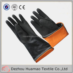 CE approved latex rubber gloves China