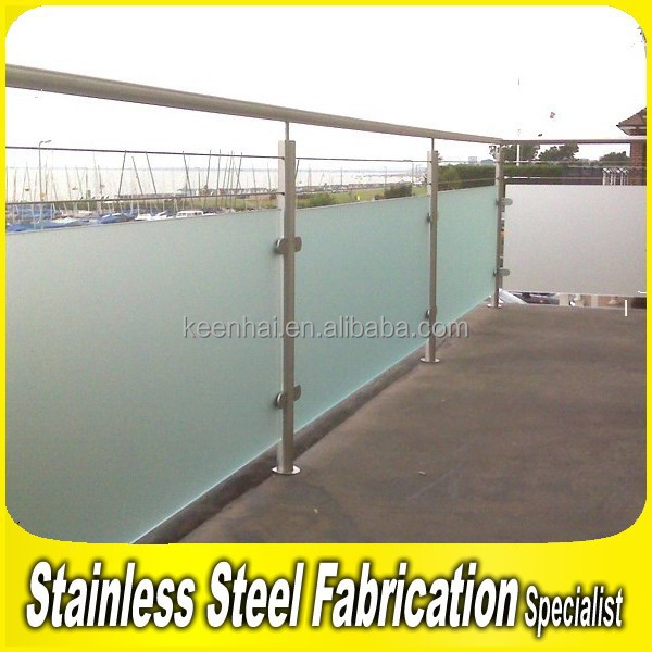 Modern Design Stainless Steel Decorative Outdoor Free Standing Handrails