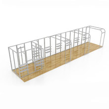 Free design aluminum truss trade show display booth