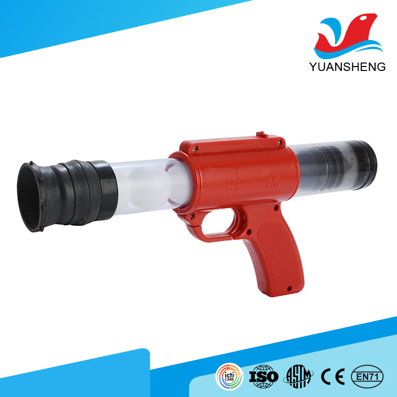 popular outdoor toy plastic ball shooting wholesale toy guns for kids