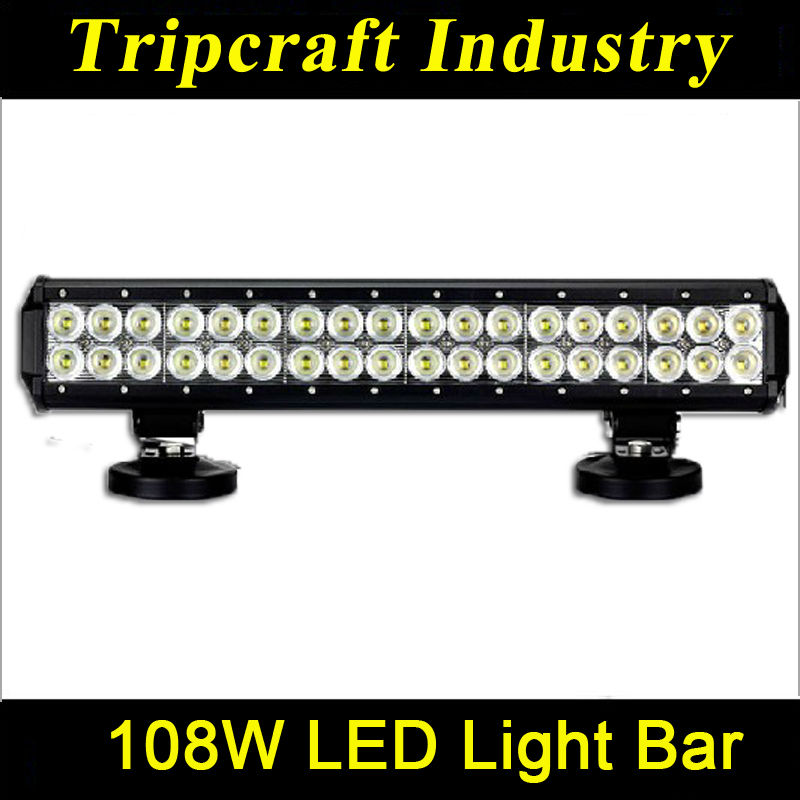 Good feedback! 17.24 inch 108W OFFROAD LED LIGHT BAR 9-32V DC Auto Led Light Bar for projector,excavator,auto parts