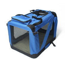 New Portable Pet Soft Dog/ Cat Cage/ foldable pet soft carrier