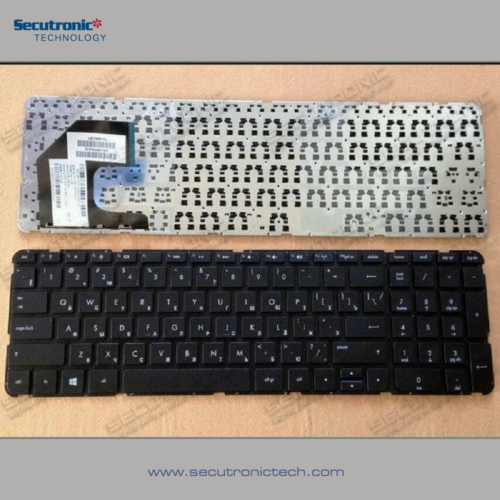 Hot New Retail Products Laptop Russian Keyboard HP Pavilion 15 15T for wholesales
