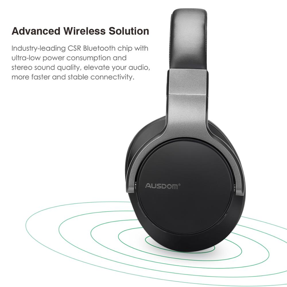 Best Price headphone active noise cancelling headphones stereo sport wireless headset with 20hrs battery life