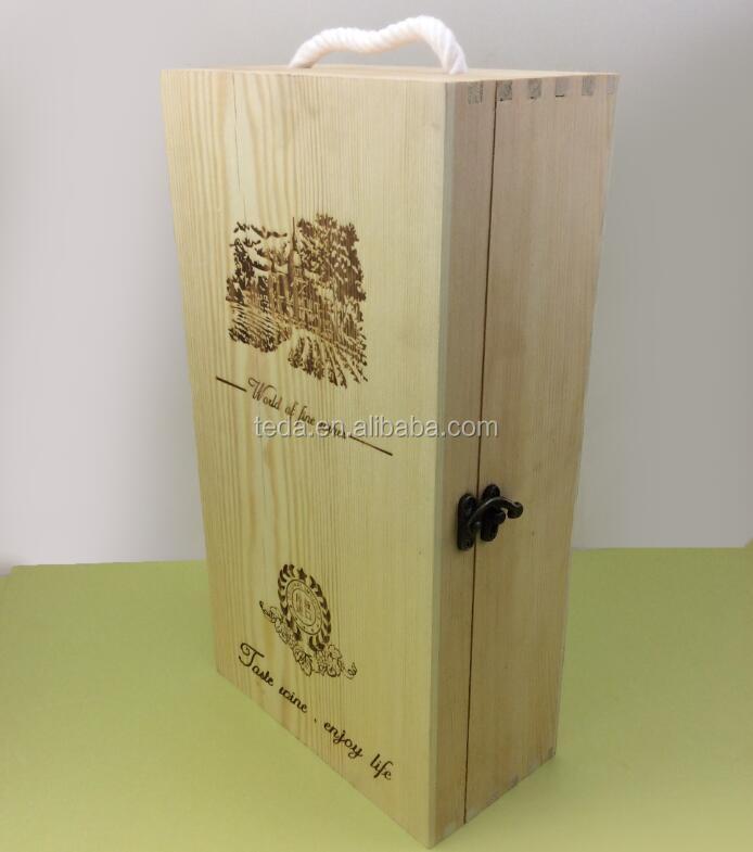 Pine wood double lid wedding wine boxQQ20170814104323.jpg