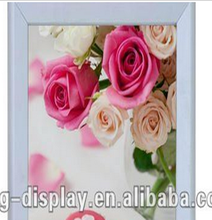 New Fashion A1 A2 A3 A4 mitred aluminum photo frame for advertising