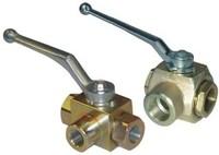 3 inch factory price handle thread lockable brass ball valve
