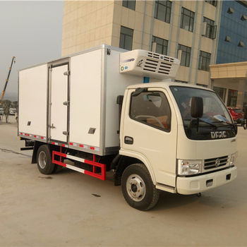 4*2 Mobile Body Frozen food transport vehicle ,ice-cream Freezer Truck