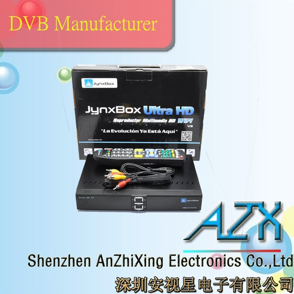 full hd 1080p jynxbox ultra hd v3 satellite descramblers
