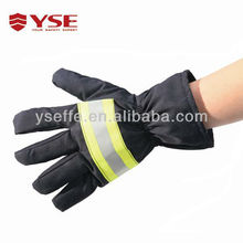 Aramid material puncture resistant gloves