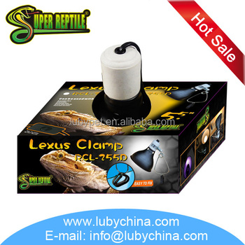 "5.5"" Reptile Clamp Lamp for reptile animal RCL-255D made in China"