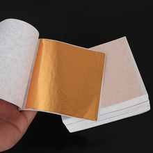 8X8.5cm Rose gold foil leaf sheets imitation gold for decorating walls,crafts,house,furniture 500sheets