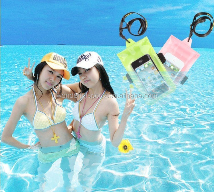Descriptions: Name Waterproof phone bag waterproof bag for phone for phone Material High quality PVC
