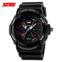 High Quality SKMEI 0966 5ATM Waterproof Dive Watch Male Military Watches