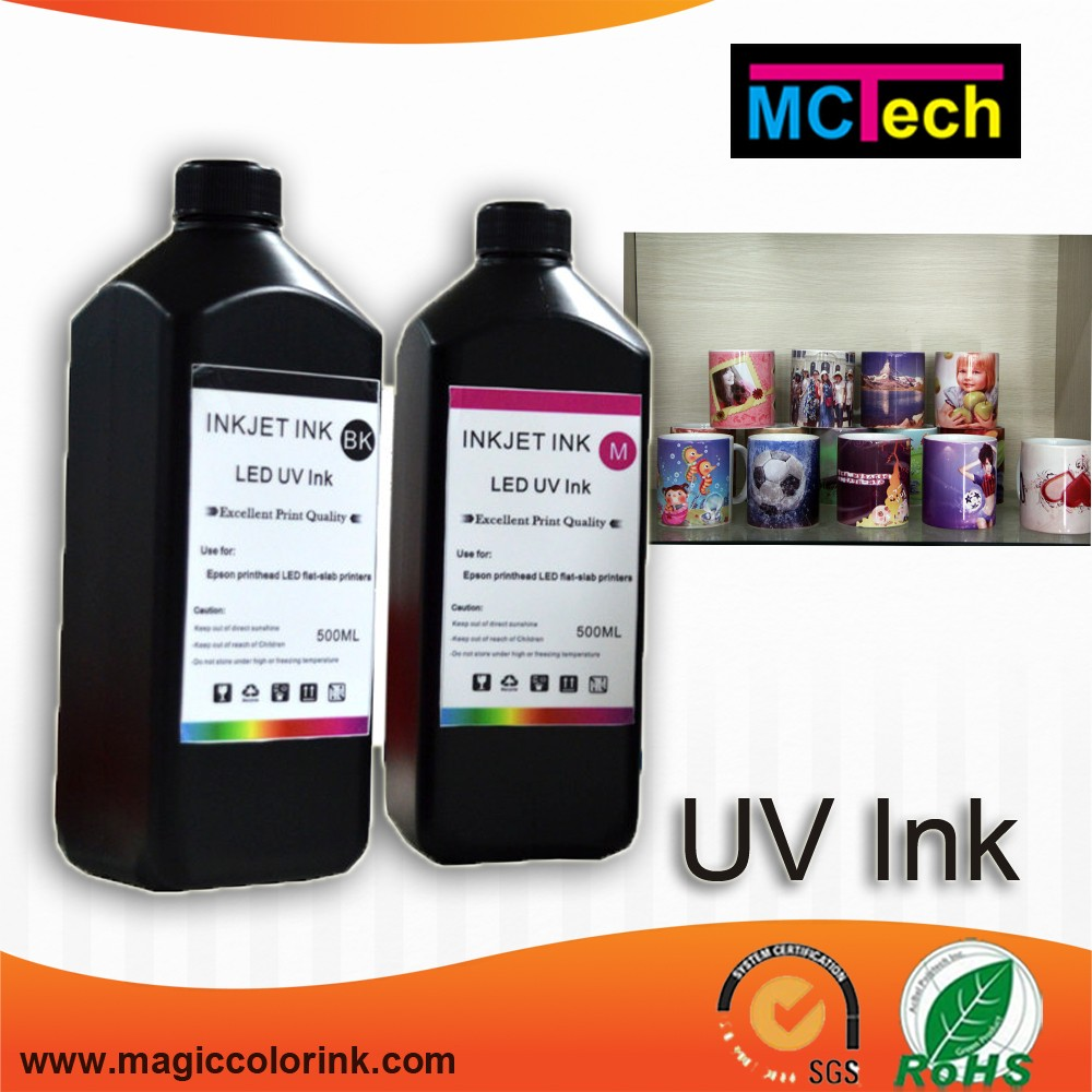 Glow in the dark inkjet printing UV ink