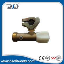 Proven design safeguard water device cutting copper pipe double check valve globe shut-off angle valve