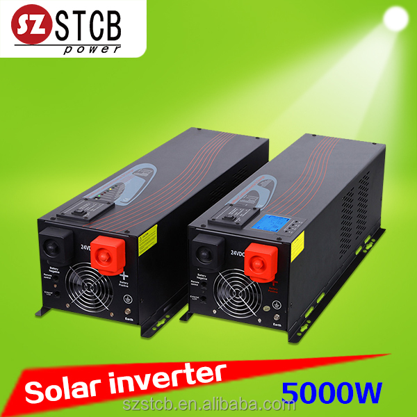 Off grid solar inverter 24v 48v 220v 5000w