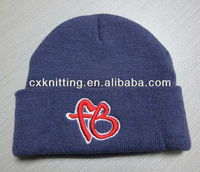 football folded hat with embroidery logo