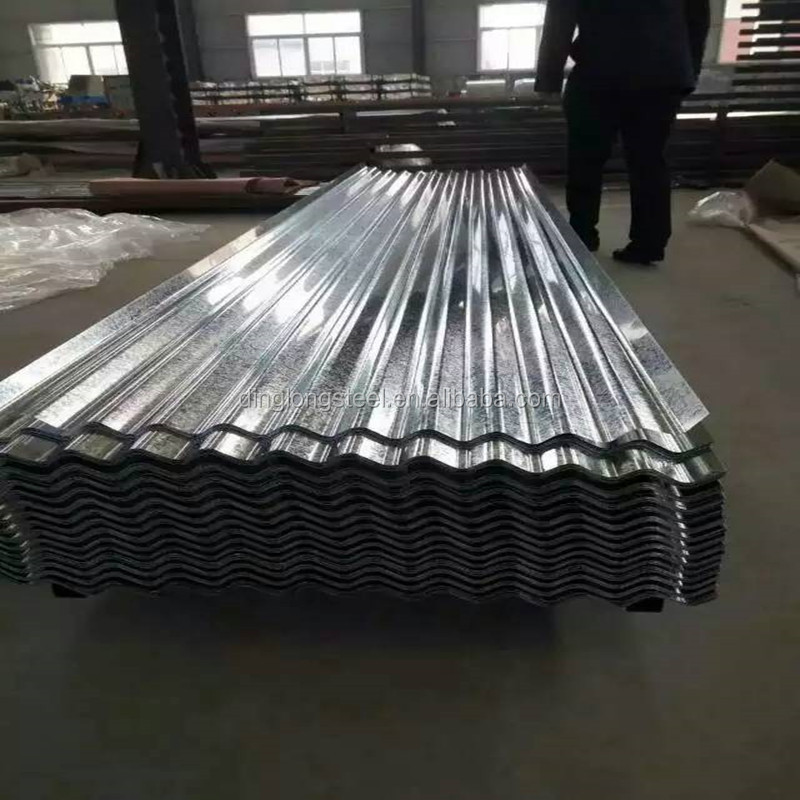 Steel factory direct sale galvanized corrugated Zinc metal roofing sheet design price