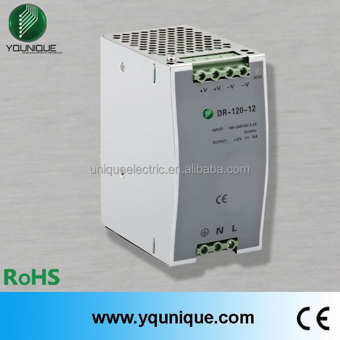 DR-120-24 120W 5A 24V din rail power supply