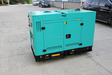 Small sound proof diesel genset 20kw 25kva generator price