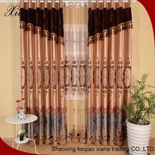 XB8643 uk fashion lovely embroidery cafe tier small curtain