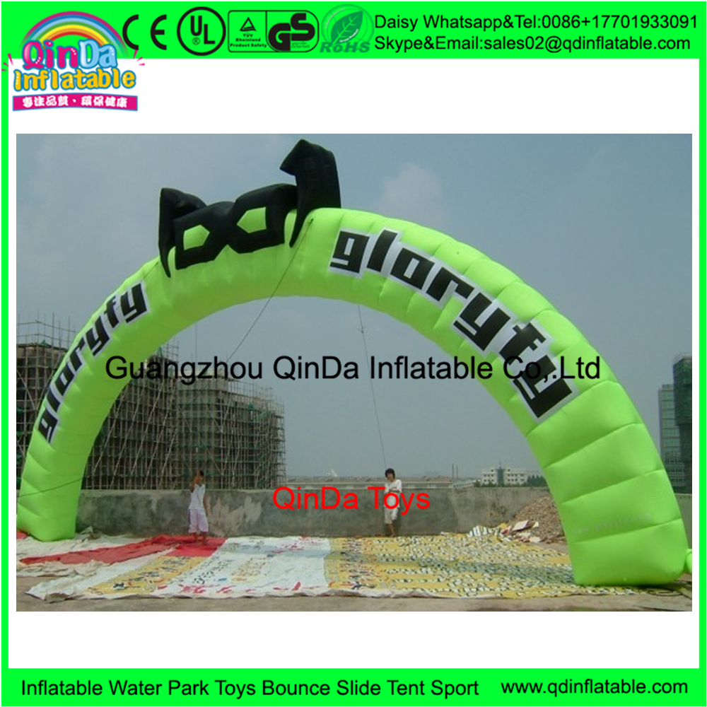 Trapaulin pvc inflatable frankenstein arch,fashion show decorations inflatable arch