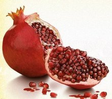 Fresh Indian Pomegranates / Fresh Anaar / Fresh red Pomegranates