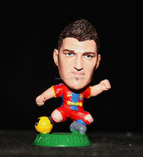 7cm David Villa wholeasle custom PVC figurines made in China