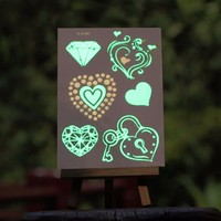 fluorescence tattoo sticker with low price