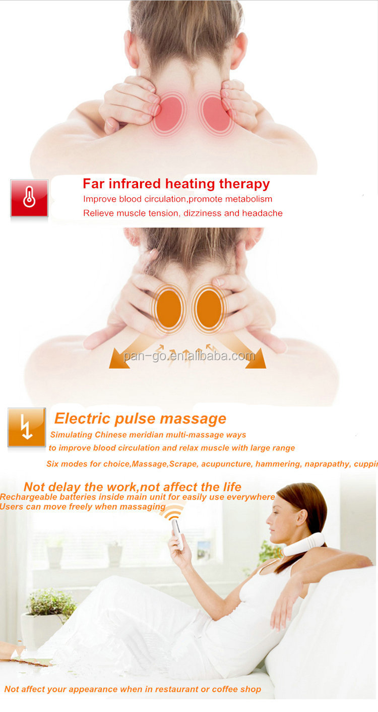New and Hot Sale Neck and Shoulder Neck Massage Machine with Multi-functions