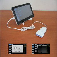 USB Linear Ultrasound Transducer , Tablet PC Ultrasound Probe