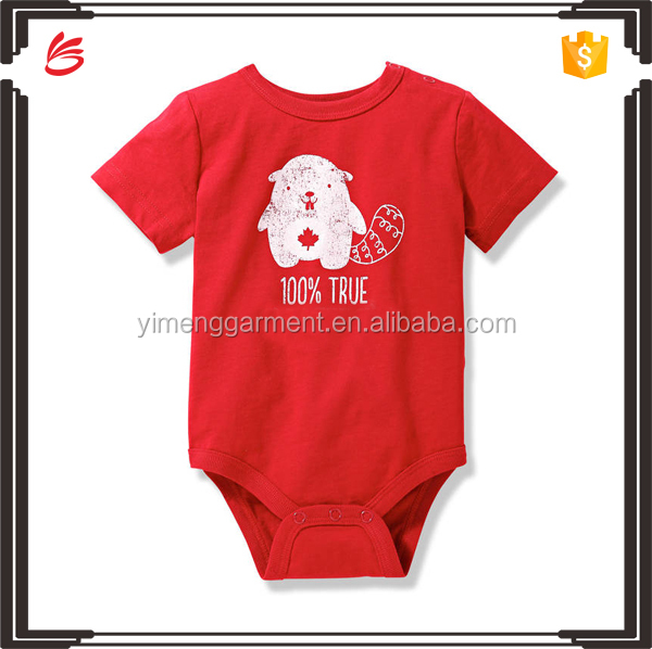 2017 new stylish custom baby clothes romper set children garment wholesale in China