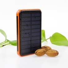 Factory Universal Charger smart portable solar power bank10000mah 8000mah 10000mah 20000mah for free sample