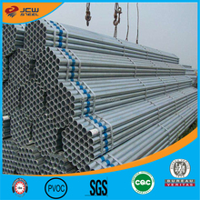 Construction material tube 1 1/2inch Greenhouse steel pipe, 20-323.9mm SCH40 hot dip galvanized steel pipe size