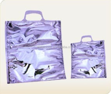 Plain no gusset food aluminum foil insulated thermo bag