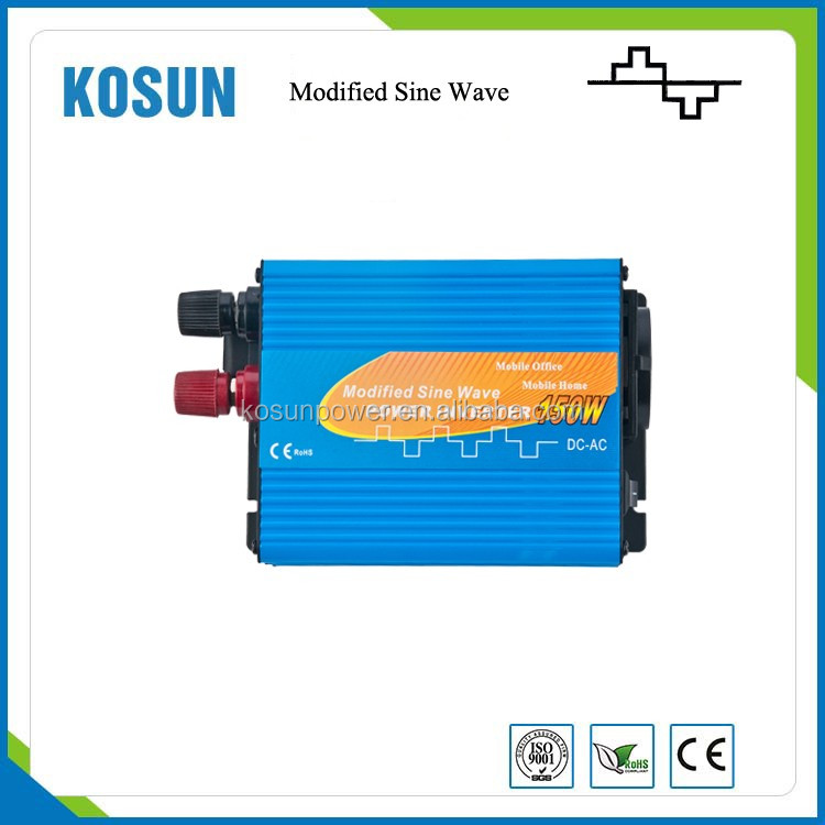 150W Modified Sine Wave Power Inverter price dc 12V to ac 230V