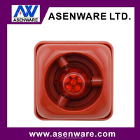 DV 15V-30V fire alarm siren LED strobe light factory price