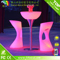 Hot Sale Night Club Outdoor Moma LED Medium Bar Table No folded Led Outdoor LED Furniture