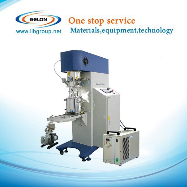Small vacuum planetary mixer for lithium ion battery research production GN-SFM-9