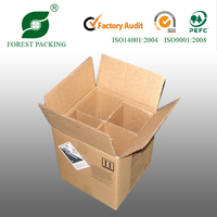 2014 NEWEST ECO-FRIENDLY WHOLESALE WINE BOTTLE CARTON BOX