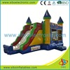 2015 GMIF6250 New kids entertainment equipment cheap inflatable water slides
