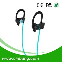 OEM sport stereo bluetooth earphone with Operation range 10m standby time 220Hrs sport bluetooth headset for iphone