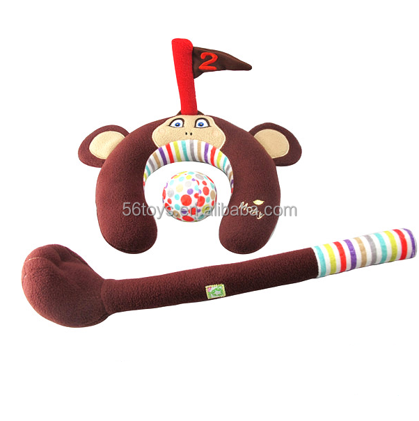 Promotional Sport goft for bowling basketball football tennis game plush toys