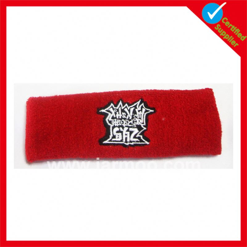 Hot selling sports table tennis business headband sweatband