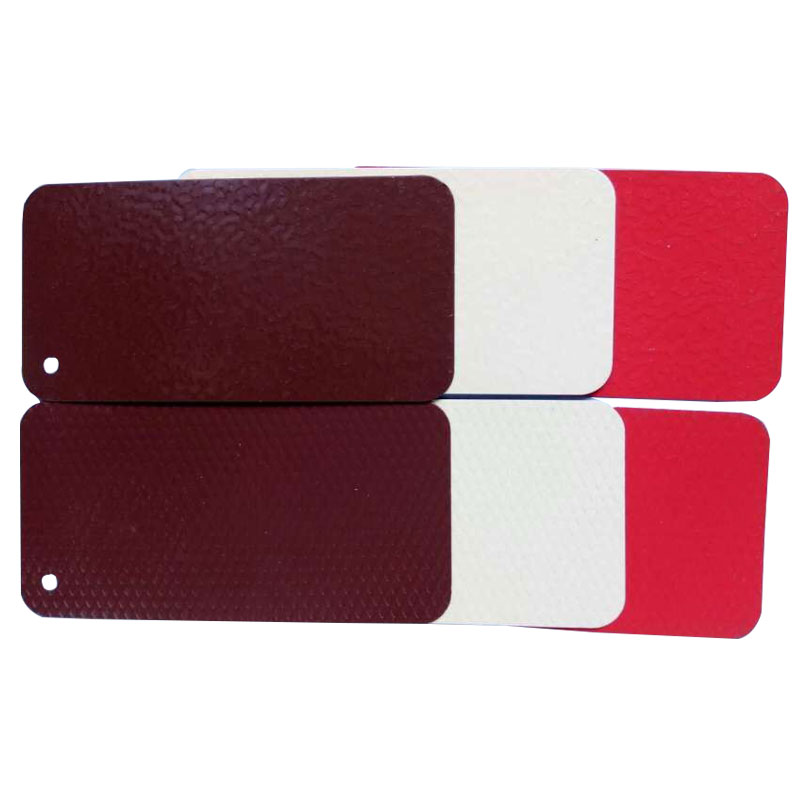 Embossed color coated aluminium roof tile