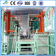 Full Automatic Carrier Type Hanging Plating Machine Rack Galvanize Equipment